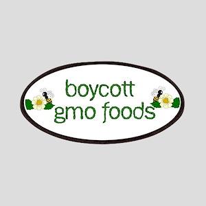 Boycott GMO Foods Patch