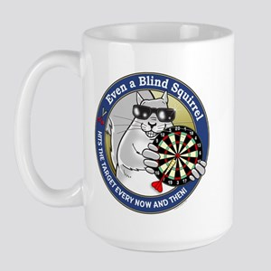 Darts Blind Squirrel Large Mug