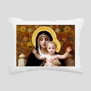 Virginofthelillies Rectangular Canvas Pillow