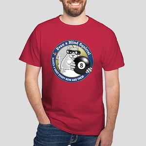 8-Ball Blind Squirrel Dark T-Shirt