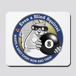 8-Ball Blind Squirrel Mousepad