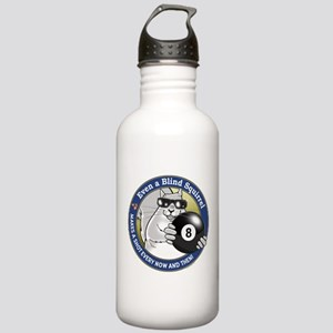 8-Ball Blind Squirrel Stainless Water Bottle 1.0L