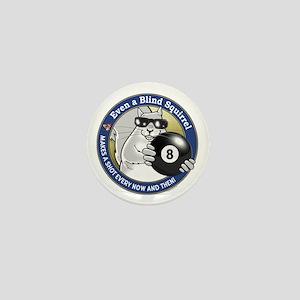 8-Ball Blind Squirrel Mini Button