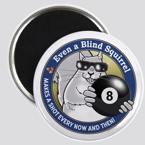8-Ball Blind Squirrel Magnet