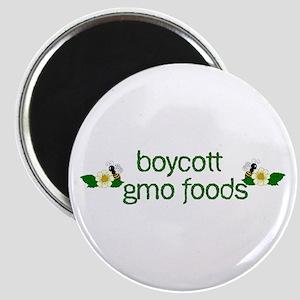 Boycott GMO Foods Magnet