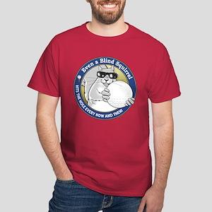 Golf Blind Squirrel Dark T-Shirt
