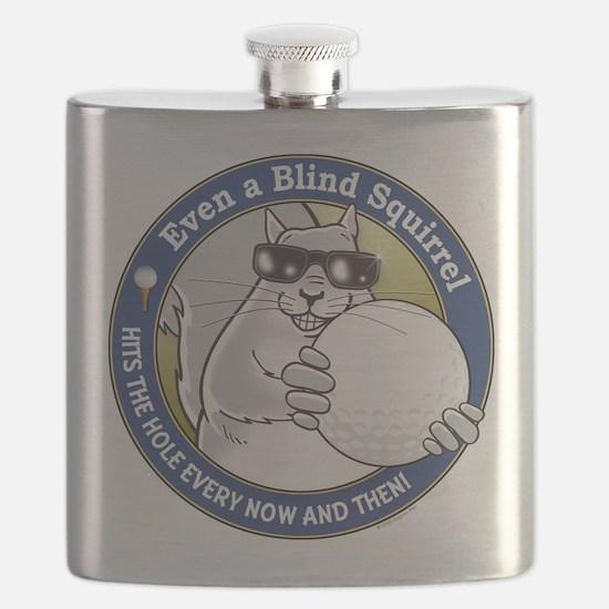 Golf Blind Squirrel Flask