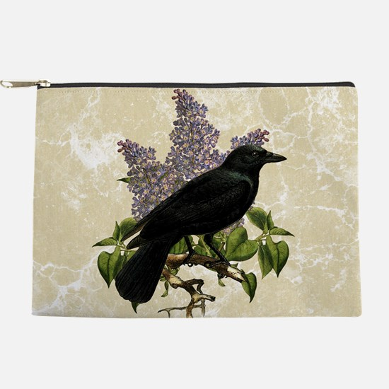 lilac-and-crow_9x12.jpg Makeup Pouch