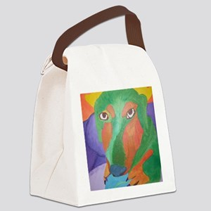 TunaPainting 001 Canvas Lunch Bag