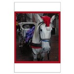 Holiday Horse Large Poster