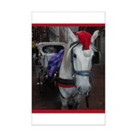 Holiday Horse Mini Poster Print