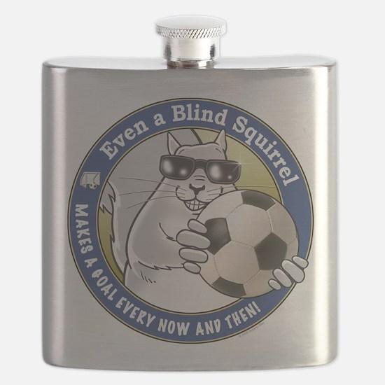 Soccer Blind Squirrel Flask