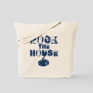 RockTheHouseBlue Tote Bag