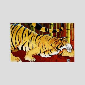 tigerbamboo-poster-lg 3'x5' Area Rug