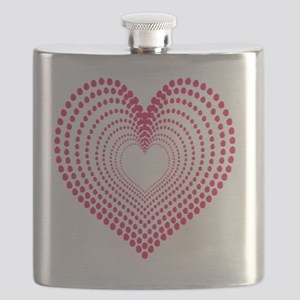 hearts 2 Flask