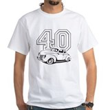 1940 ford Mens Classic White T-Shirts