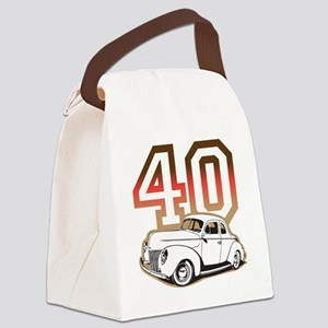 40 ford color Canvas Lunch Bag