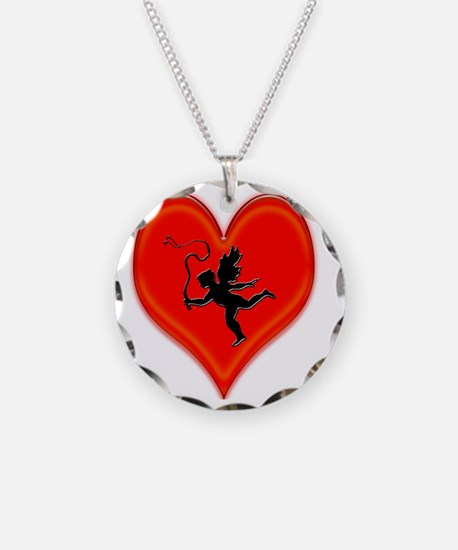 cupid whip me valentine Necklace