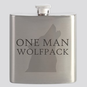 ONE MAN PACK WHITE Flask