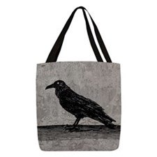 a-raven_new_b Polyester Tote Bag