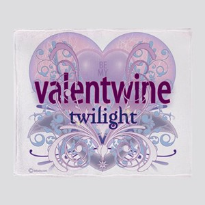 twilight be my valentwine 2 Throw Blanket