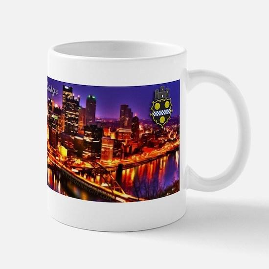 Pittsburgh City of Bridges Mugs