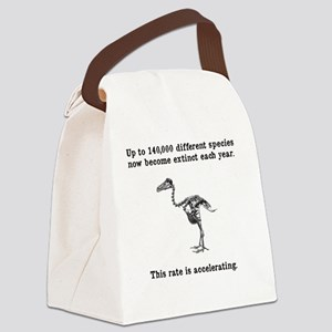 extinct Canvas Lunch Bag
