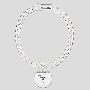 extinct Charm Bracelet, One Charm