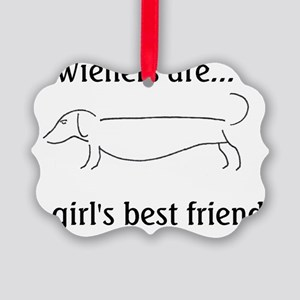 girlsBF Picture Ornament