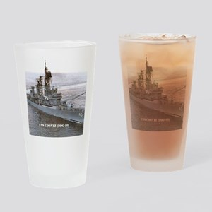 coontz ddg small poster Drinking Glass