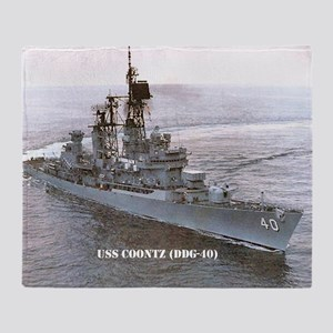 coontz ddg small poster Throw Blanket