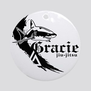 graciefinal2-2BLK Round Ornament