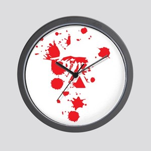 graciefinal2-3WHT Wall Clock