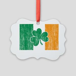 Irish Flag Picture Ornament