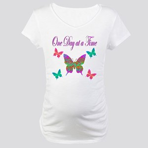 ONE DAY AT A TIME Maternity T-Shirt