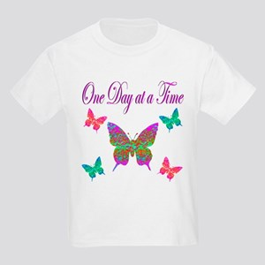 ONE DAY AT A TIME Kids Light T-Shirt