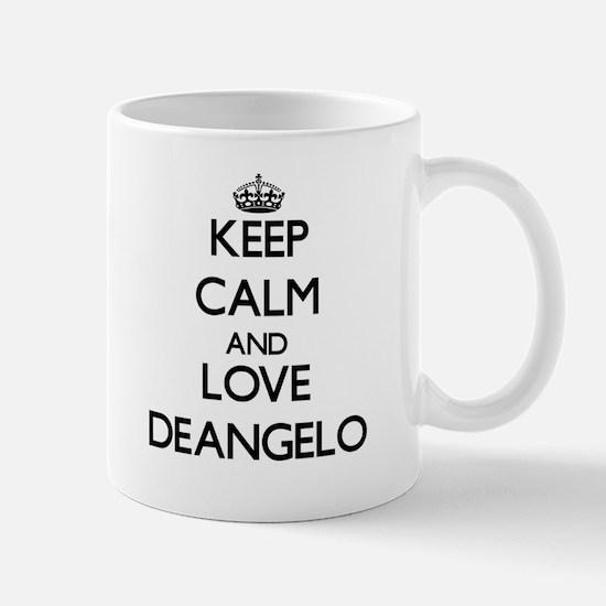 Keep Calm and Love Deangelo Mugs