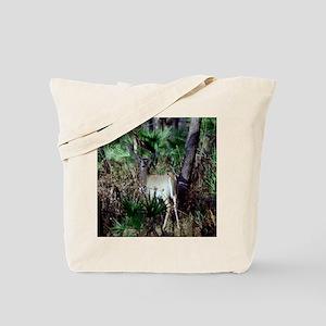 Deer Caught By Surprise Tote Bag