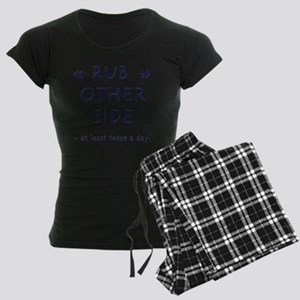 Rub A Dub Dub Women's Dark Pajamas