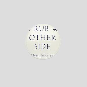 Rub A Dub Dub Mini Button