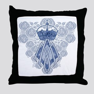 MAmonogramINKCP Throw Pillow