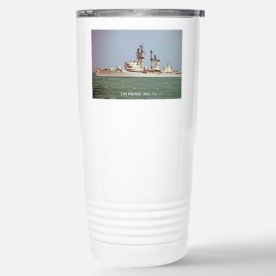 preble dlg postcard Stainless Steel Travel Mug
