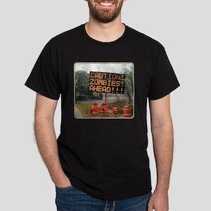 zombie_ahead Dark T-Shirt