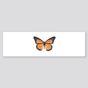 Vintage Butterfly Bumper Sticker
