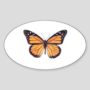 Vintage Butterfly Sticker