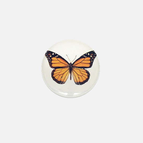 Vintage Butterfly Mini Button