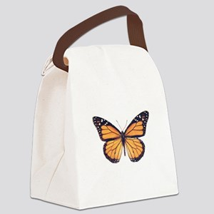 Vintage Butterfly Canvas Lunch Bag