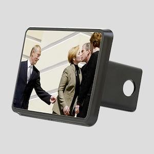 ART Bush and Putin Rectangular Hitch Cover