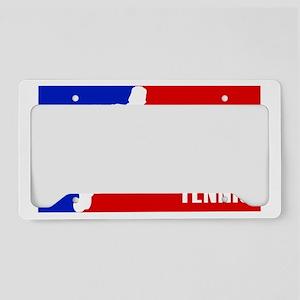 tennis-logo License Plate Holder