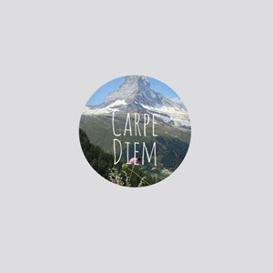 Carpe Diem - Climb a Mountain Mini Button